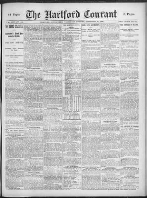Hartford Courant from Hartford, Connecticut on September 12, 1900 · 1