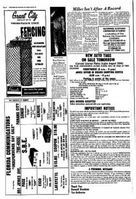 Panama City News-Herald from Panama City, Florida on June 30, 1974 · Page 24
