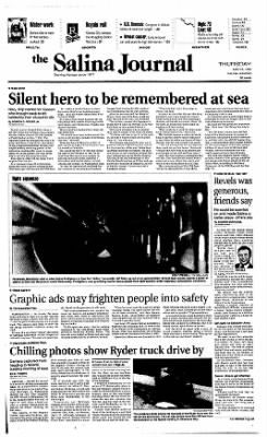The Salina Journal from Salina, Kansas on May 15, 1997 · Page 1