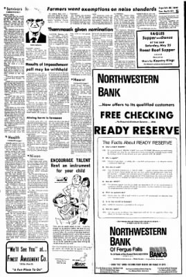 The Daily Journal from Fergus Falls, Minnesota on May 23, 1974 · Page 10