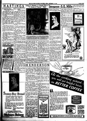 The Malvern Leader from Malvern, Iowa on October 12, 1933 · Page 9