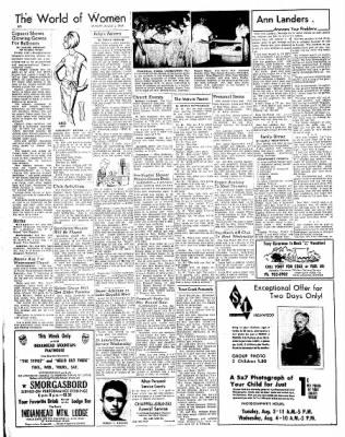 Ironwood Daily Globe from Ironwood, Michigan on August 2, 1965 · Page 6