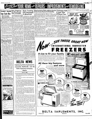 The Courier News from Blytheville, Arkansas on July 2, 1948 · Page 9