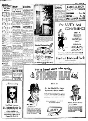 The Courier News from Blytheville, Arkansas on April 27, 1956 · Page 12