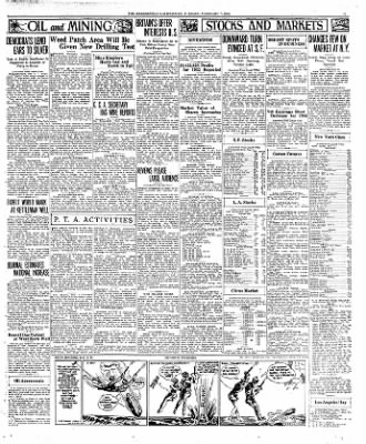 The Bakersfield Californian from Bakersfield, California on February 7, 1933 · Page 11
