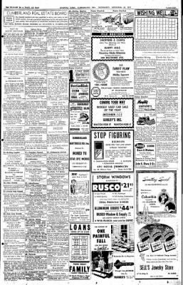 Cumberland Evening Times from Cumberland, Maryland on November 30, 1955 · Page 22