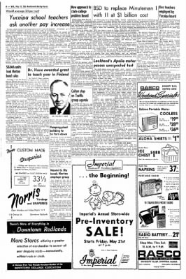 Redlands Daily Facts from Redlands, California on May 19, 1965 · Page 6