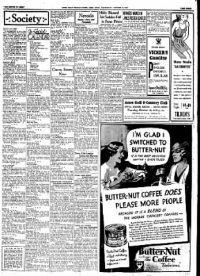 Ames Daily Tribune from Ames, Iowa on October 18, 1933 · Page 6