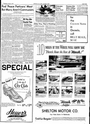 The Courier News from Blytheville, Arkansas on June 16, 1953 · Page 9