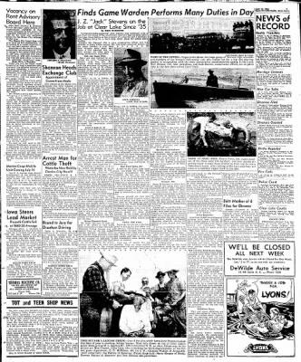Globe-Gazette from Mason City, Iowa on July 12, 1948 · Page 9