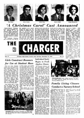 Carrol Daily Times Herald from Carroll, Iowa on November 21, 1970 · Page 16