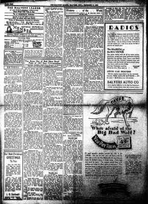 The Malvern Leader from Malvern, Iowa on December 21, 1933 · Page 2