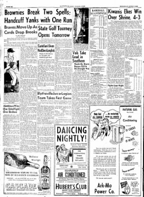 The Courier News from Blytheville, Arkansas on June 17, 1953 · Page 6