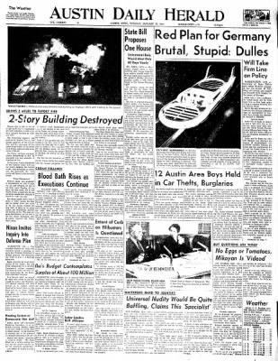 The Austin Daily Herald from Austin, Minnesota on January 13, 1959 · Page 1