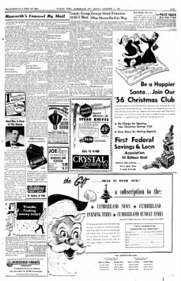 Cumberland Evening Times from Cumberland, Maryland on December 5, 1955 · Page 5