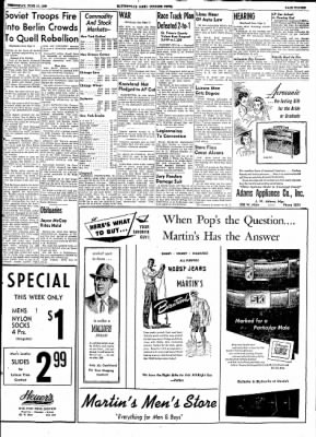 The Courier News from Blytheville, Arkansas on June 17, 1953 · Page 10