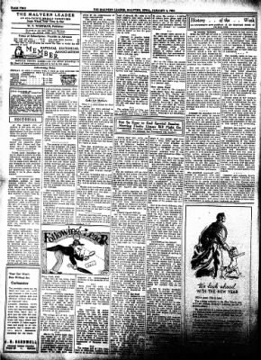 The Malvern Leader from Malvern, Iowa on January 4, 1934 · Page 2