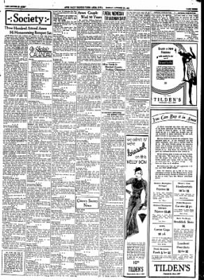 Ames Daily Tribune from Ames, Iowa on October 23, 1933 · Page 6