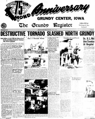 The Grundy Register from Grundy Center, Iowa on June 5, 1952 · Page 59