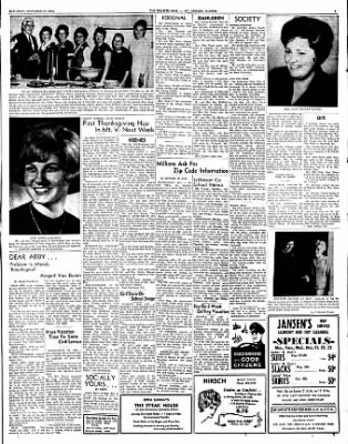 Mt. Vernon Register-News from Mt Vernon, Illinois on November 19, 1966 · Page 3