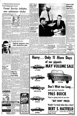 Redlands Daily Facts from Redlands, California on May 21, 1965 · Page 4