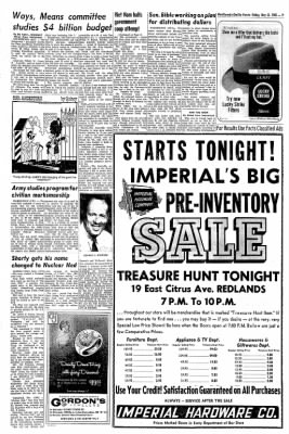 Redlands Daily Facts from Redlands, California on May 21, 1965 · Page 7