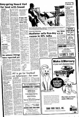 The Daily Journal from Fergus Falls, Minnesota on August 2, 1974 · Page 11