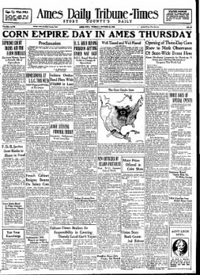 Ames Daily Tribune from Ames, Iowa on October 24, 1933 · Page 16