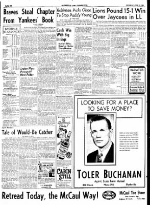 The Courier News from Blytheville, Arkansas on June 18, 1953 · Page 6