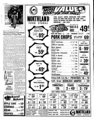 Ironwood Daily Globe from Ironwood, Michigan on August 5, 1965 · Page 12