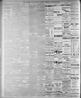 Hartford Courant from Hartford, Connecticut on October 29, 1883 · 2