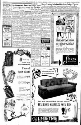 Cumberland Evening Times from Cumberland, Maryland on December 6, 1955 · Page 20