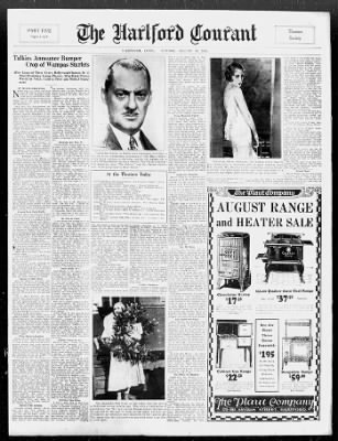 Hartford Courant from Hartford, Connecticut on August 30, 1931 · 41