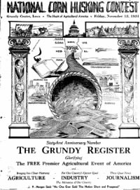 Sample The Grundy Register front page
