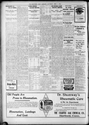 Hartford Courant from Hartford, Connecticut on April 7, 1906 · 14