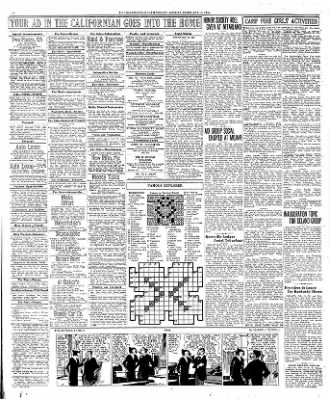 The Bakersfield Californian from Bakersfield, California on February 13, 1933 · Page 12