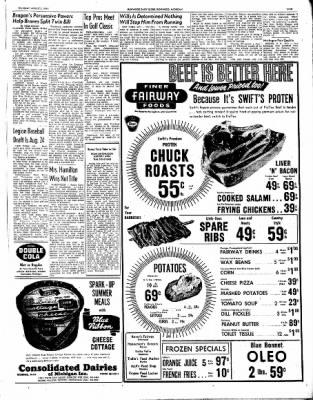 Ironwood Daily Globe from Ironwood, Michigan on August 5, 1965 · Page 25