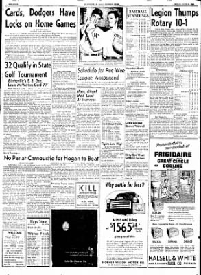 The Courier News from Blytheville, Arkansas on June 19, 1953 · Page 4