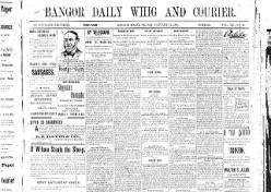 Bangor Whig Courier