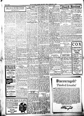 The Malvern Leader from Malvern, Iowa on February 8, 1934 · Page 4