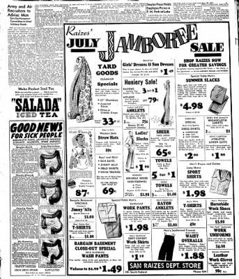 Globe-Gazette from Mason City, Iowa on June 30, 1948 · Page 17