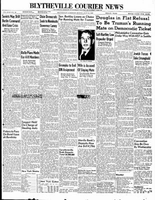 The Courier News from Blytheville, Arkansas on July 12, 1948 · Page 1