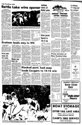 The Daily Journal from Fergus Falls, Minnesota on August 31, 1974 · Page 7