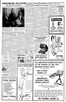 Cumberland Evening Times from Cumberland, Maryland on December 8, 1955 · Page 27