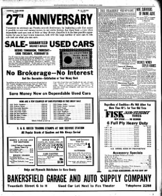 The Bakersfield Californian from Bakersfield, California on February 15, 1933 · Page 7