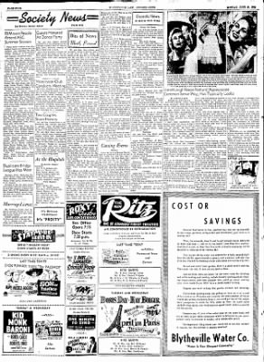 The Courier News from Blytheville, Arkansas on June 22, 1953 · Page 4