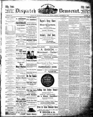 Ukiah Daily Journal from Ukiah, California on September 26, 1890 · Page 1