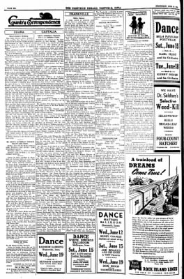 Postville Herald from Postville, Iowa on June 12, 1946 · Page 6