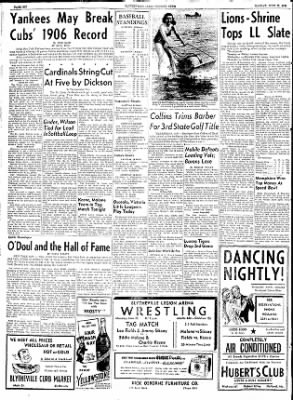 The Courier News from Blytheville, Arkansas on June 22, 1953 · Page 6