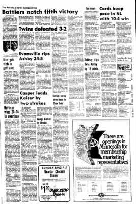 The Daily Journal from Fergus Falls, Minnesota on September 28, 1974 · Page 4
